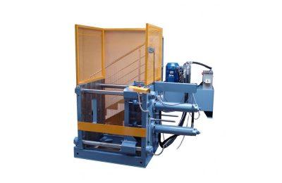 Horizontal gravitational casting machine