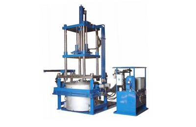 Low pressure casting machine