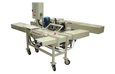 Press for cleaning cloth packing